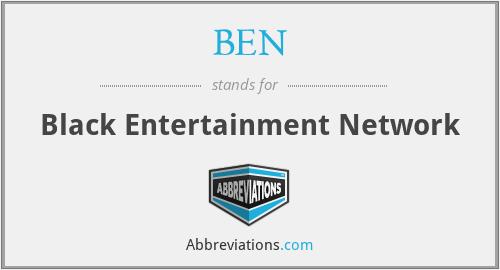 BEN - Black Entertainment Network