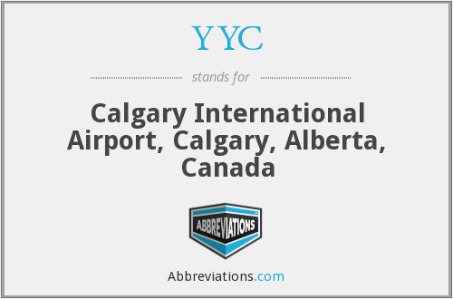 YYC - Calgary International Airport, Calgary, Alberta, Canada