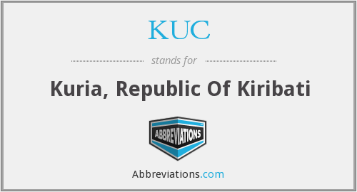 What does KUC stand for?