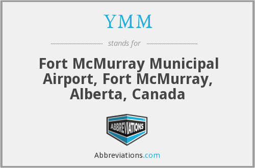 YMM - Fort McMurray Municipal Airport, Fort McMurray, Alberta, Canada