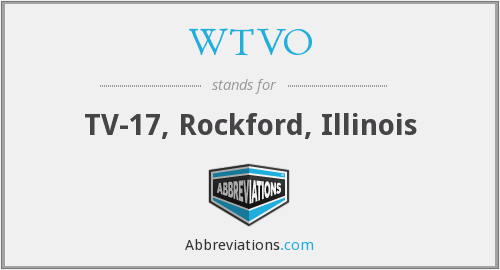 What does WTVO stand for?
