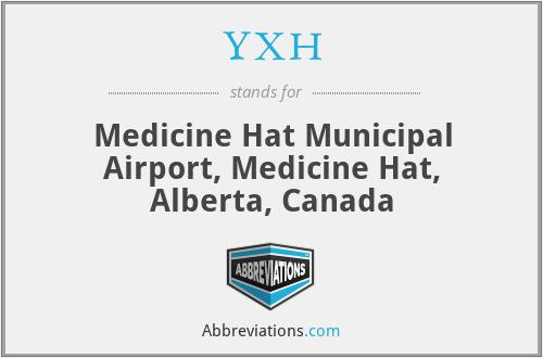 YXH - Medicine Hat Municipal Airport, Medicine Hat, Alberta, Canada