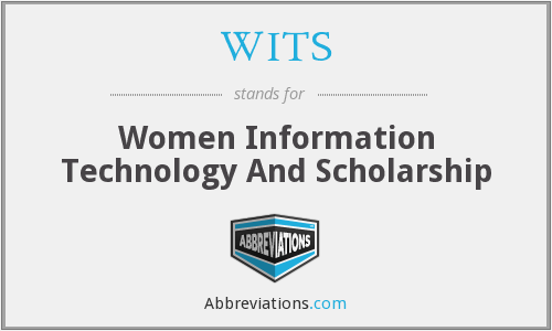 WITS - Women Information Technology And Scholarship