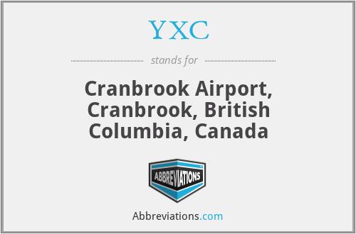 YXC - Cranbrook Airport, Cranbrook, British Columbia, Canada