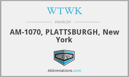 WTWK - AM-1070, PLATTSBURGH, New York