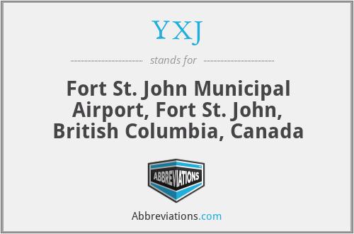 YXJ - Fort St. John Municipal Airport, Fort St. John, British Columbia, Canada