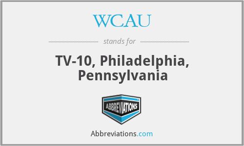 WCAU - TV-10, Philadelphia, Pennsylvania