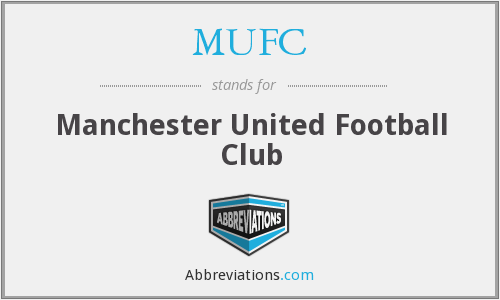 What does MUFC stand for?