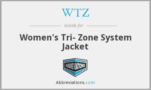 WTZ - Women's Tri- Zone System Jacket