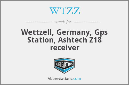 What does WTZZ stand for?