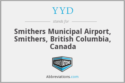 YYD - Smithers Municipal Airport, Smithers, British Columbia, Canada