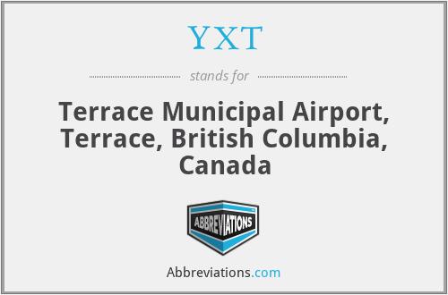 YXT - Terrace Municipal Airport, Terrace, British Columbia, Canada