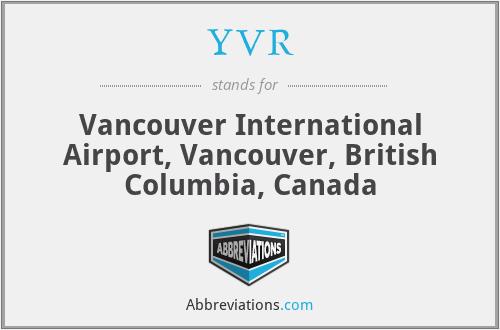 YVR - Vancouver International Airport, Vancouver, British Columbia, Canada
