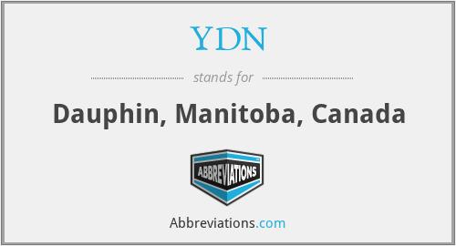 YDN - Dauphin, Manitoba, Canada