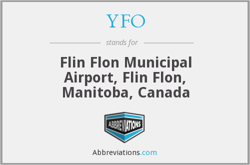 YFO - Flin Flon Municipal Airport, Flin Flon, Manitoba, Canada