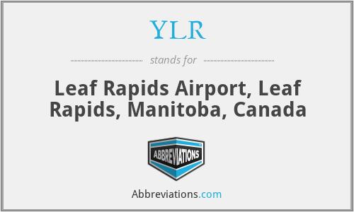 YLR - Leaf Rapids Airport, Leaf Rapids, Manitoba, Canada