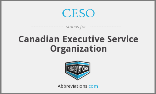 What does CESO stand for?