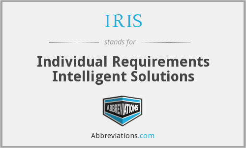 IRIS - Individual Requirements Intelligent Solutions