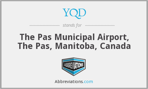 YQD - The Pas Municipal Airport, The Pas, Manitoba, Canada