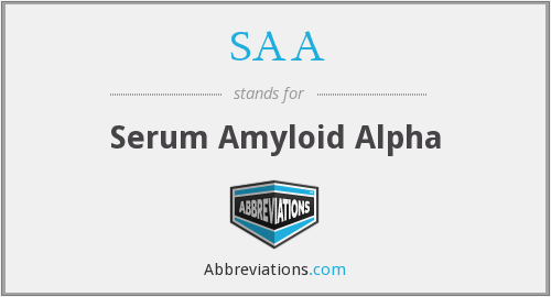 SAA - Serum Amyloid Alpha