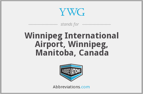 YWG - Winnipeg International Airport, Winnipeg, Manitoba, Canada