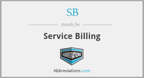 SB - Service Billing