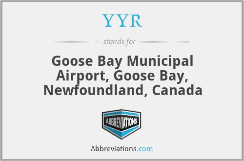 YYR - Goose Bay Municipal Airport, Goose Bay, Newfoundland, Canada