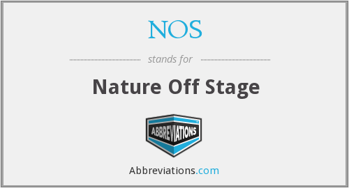 NOS - Nature Off Stage