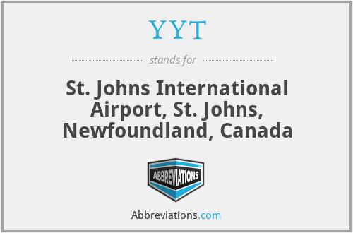 YYT - St. Johns International Airport, St. Johns, Newfoundland, Canada