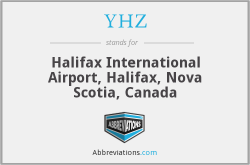What does YHZ stand for?