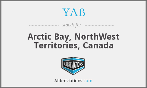 YAB - Arctic Bay, NorthWest Territories, Canada