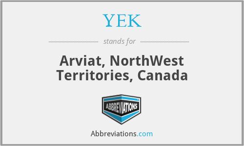 YEK - Arviat, NorthWest Territories, Canada