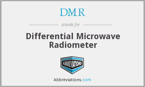 What does DMR stand for?