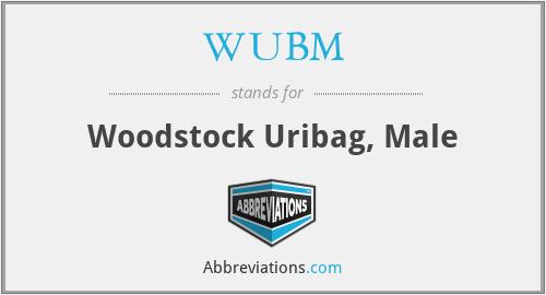 WUBM - Woodstock Uribag, Male