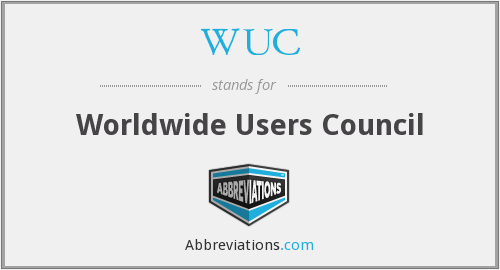 WUC - Worldwide Users Council