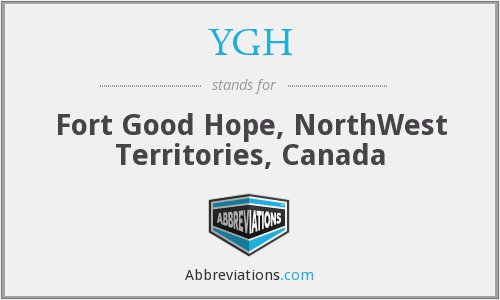 YGH - Fort Good Hope, NorthWest Territories, Canada