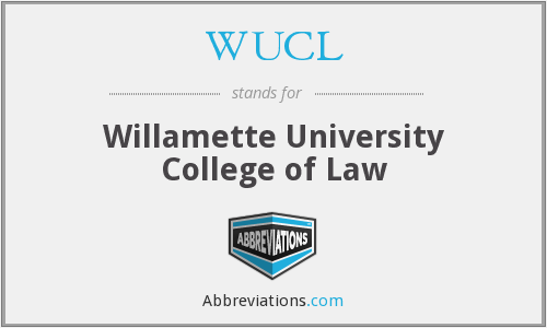 WUCL - Willamette University College of Law