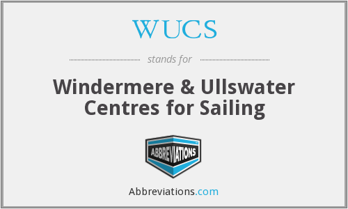 WUCS - Windermere & Ullswater Centres for Sailing