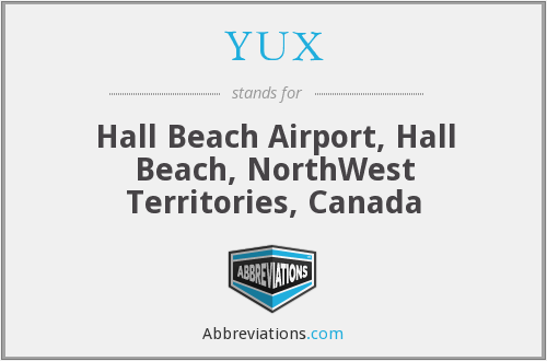 YUX - Hall Beach Airport, Hall Beach, NorthWest Territories, Canada