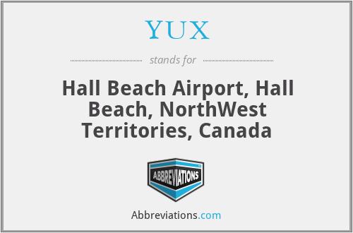 YUX - Hall Beach Airport, Hall Beach, NorthWest Territories, Canada