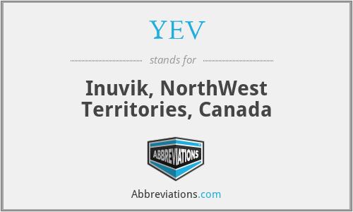YEV - Inuvik, NorthWest Territories, Canada