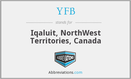 YFB - Iqaluit, NorthWest Territories, Canada