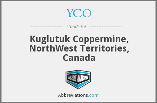 YCO - Kuglutuk Coppermine, NorthWest Territories, Canada