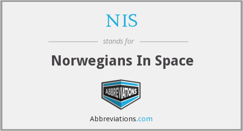 NIS - Norwegians In Space
