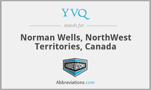YVQ - Norman Wells, NorthWest Territories, Canada