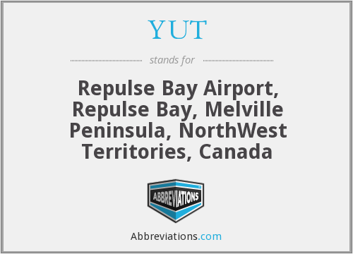YUT - Repulse Bay Airport, Repulse Bay, Melville Peninsula, NorthWest Territories, Canada
