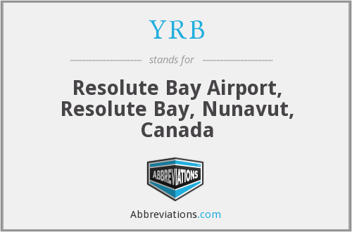 YRB - Resolute Bay Airport, Resolute Bay, Nunavut, Canada