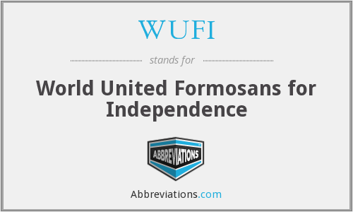 What does WUFI stand for?