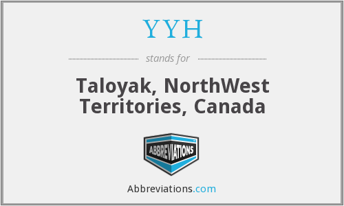 YYH - Taloyak, NorthWest Territories, Canada