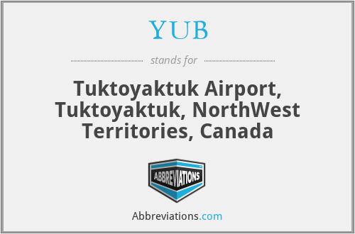 YUB - Tuktoyaktuk Airport, Tuktoyaktuk, NorthWest Territories, Canada